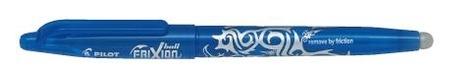 Stylo roller Frixion bleu