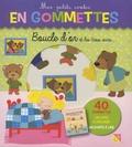 Pimchou - Boucle d'or et les trois ours - 40 gommettes, un livre à décorer, un conte à lire.
