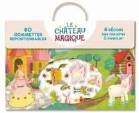 Pimchou - Le château magique - 80 gommettes autocollantes.