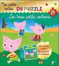 Pimchou et Marie-Hélène Grégoire - Les 3 petits cochons - Mes petits contes en puzzle.