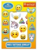 Pimchou - Mes tattoos par emoji - 42 tatouages éphémères.