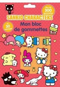Télécharger Google Books pdf mac Mon bloc de gommettes Sanrio characters  - Avec plus de 300 gommettes et 30 coloriages (Litterature Francaise) par Pimchou 9782840649304 FB2