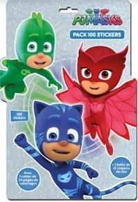 Télécharger des ebooks google kindle Pjmasks  - Pack de 100 stickers