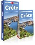 Piotr Jablonski - Crète - Guide + Atlas + Carte laminée 1/170 000. 1 Plan détachable
