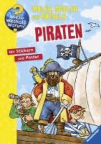 Piraten - Malen, Spielen und Rätseln.