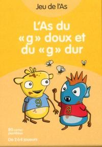 "Nancy Gagné - L'As du ""g"" doux et du ""g"" dur - Jeu de cartes."