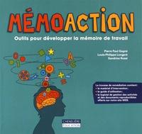 Pierre Paul Gagné et Louis-Philippe Longpré - MémoAction - Outils pour développer la mémoire de travail. Avec le matériel d'intervention, le guide d'utilisation, le logiciel de gestion des activités et des documents reproductibles offerts sur notre site web.