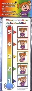 Milmo - Thermomètre de la timidité et thermomètre de la peur et de l'anxiété (fille).