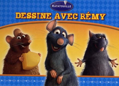 Pixar - Dessine avec Rémy - Livre ardoise Ratatouille.