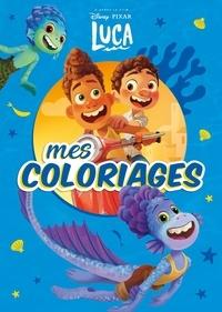 Pixar - Mes coloriages Luca.