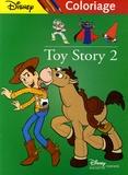 Pixar et  Disney - Toy Story 2 - Coloriage vert.