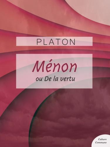 Ménon - 9782363077929 - 0,99 €