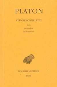 Deedr.fr Oeuvres complètes - Tome 5, 1e partie, Ion, Ménexène, Euthydème Image