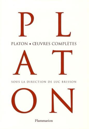 Platon et Luc Brisson - Platon, oeuvres complètes.