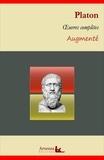 Platón Platón - Platon : Oeuvres complètes et annexes (annotées, illustrées) - La République, Le Banquet, Apologie de Socrate, Criton, Gorgias....