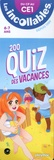 Play Bac - 200 quiz des vacances - Du CP au CE1 6-7 ans.