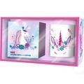 Play Bac - 365 jours 100 % licorne - Coffret avec une bougie féérique fragrance marshmallow !.