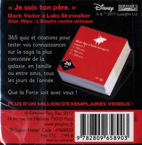 365 quiz Star Wars