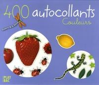 Play Bac - 400 Autocollants - Couleurs.