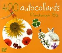 Play Bac - 400 Autocollants - Printemps Eté.