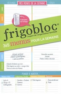 Play Bac - Frigobloc 365 menus pour la semaine.