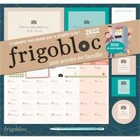 Play Bac - Frigobloc à personnaliser avec vos photos ! - Avec 2 cadres photos, 1 liste de courses, 3 cadres aimantés, 3 aimants, 1 porte-mine.