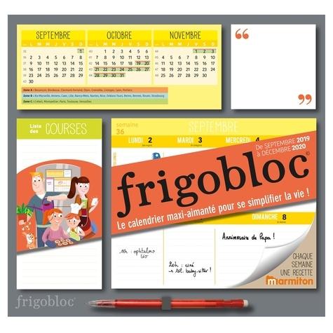 Play Bac - Frigobloc Marmiton - Le calendrier maxi-aimanté pour se simplifier la vie ! Avec un critérium.