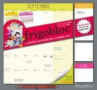 Play Bac - Frigobloc mensuel - Le calendrier maxi-aimanté pour se simplifier la vie ! Avec un criterium.