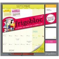 Play Bac et  Ultraviolette - Frigobloc mensuel - Le calendrier maxi-aimanté pour se simplifier la vie ! Avec un criterium.