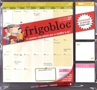 Play Bac - Frigobloc Mensuel - Calendrier d'organisation familiale par mois.