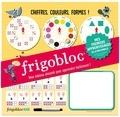 Play Bac - Frigobloc Mes premiers apprentissages de la maternelle - Mon tableau aimanté pour apprendre facilement ! Avec un feutre effaçable.