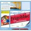 Play Bac - Frigobloc Montessori - Le calendrier maxi-aimanté pour se simplifer la vie !.