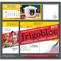 Play Bac - Frigobloc recettes au robot cuiseur - Le calendrier maxi-aimanté pour se simplifier la vie ! Avec un critérium.