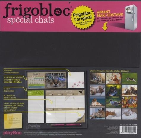 Frigobloc spécial chats. Le calendrier maxi-aimanté pour se simplifier la vie !  Edition 2020