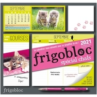 Play Bac - Frigobloc spécial chats - Le calendrier maxi-aimanté pour se simplifier la vie !.