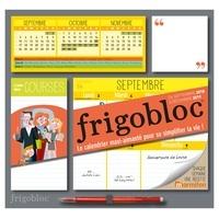 Play Bac - Frigobloc - Le calendrier maxi-aimanté pour se simplifier la vie ! Avec un critérium.