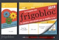 Play Bac et  Ultraviolette - Je m'organise avec Frigobloc (spécial énigmes et casse-tête) - Le calendrier maxi-aimanté pour se simplifier la vie ! Avec un criterium.