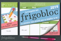 Play Bac - Je m'organise avec Frigobloc (spécial mots fléchés & croisés) - Le calendrier maxi-aimanté pour se simplifier la vie ! Avec un criterium.