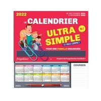 Play Bac - Le calendrier Frigobloc ultra simple et maxi-compact pour une famille organisée.
