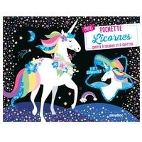 Era-circus.be Maxi pochette Licornes - Cartes à colorier et à gratter Image