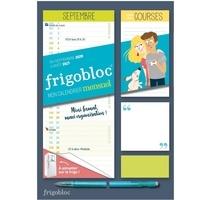 Play Bac - Mini Frigobloc mensuel - Calendrier d'organisation familiale / 12 mois.