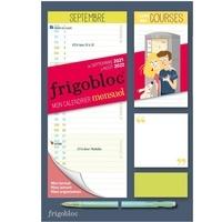 Play Bac - Mini Frigobloc mensuel - Le calendrier maxi-aimanté pour se simplifer la vie !.