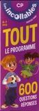 Play Bac - Tout le programme CP - 6-7 ans. 600 questions-réponses.