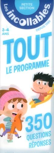 Play Bac - Tout le programme Petite Section 3-4 ans - 350 questions-réponses.