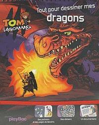 Play Bac - Tout pour dessiner mes dragons.