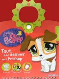 Play Bac - Tout pour dessiner mes petshop - Les gloutons.