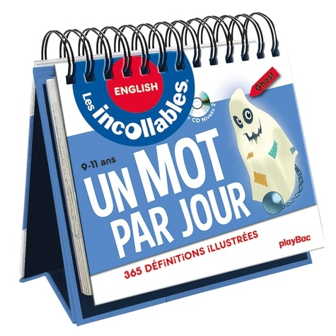 Play Bac - Un mot par jour English 9-11 ans - 365 définitions illustrées. 1 CD audio