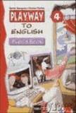 Playway to English 4. Pupils Book - Arbeitsmaterialien für den Englischunterricht in der 3. Schulstufe. Smile-Methode. Mit Stanzbögen.