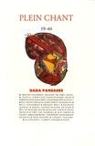 Marc Dachy - Plein Chant N° 39-40 : Dada Pansaers.
