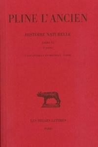 Pline l'Ancien - Histoire naturelle - Livre VI 2e partie, L'Asie centrale et orientale - L'Inde.